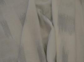 Tecido cortinas alinhado branco e cinzento 103.250
