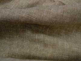Tecido cortinas alinhado bege e castanho 103.390