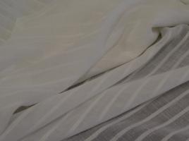 Tecido cortinas alinhado branco 103.430